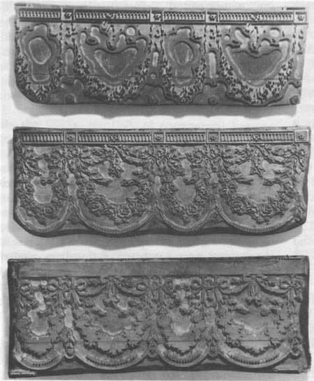 Blocks for Printing Wallpaper Borders