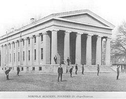 Norfolk Academy ca. 1840