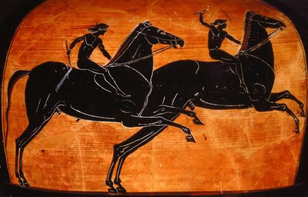 Ancient Greek Horse Racing