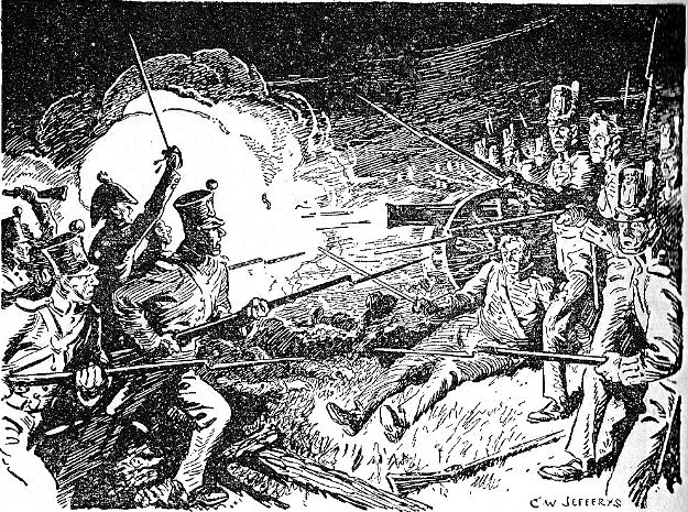 Fighting at Lundy's Lane
