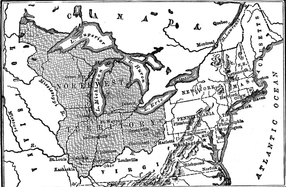 Extent of the Northwest Territory