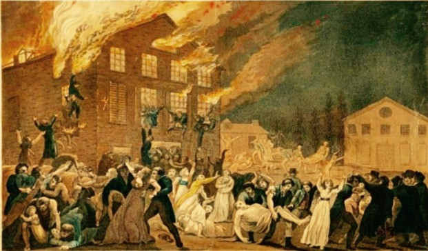 A Holiday Horror Story:  The Richmond Theatre Fire of 1811