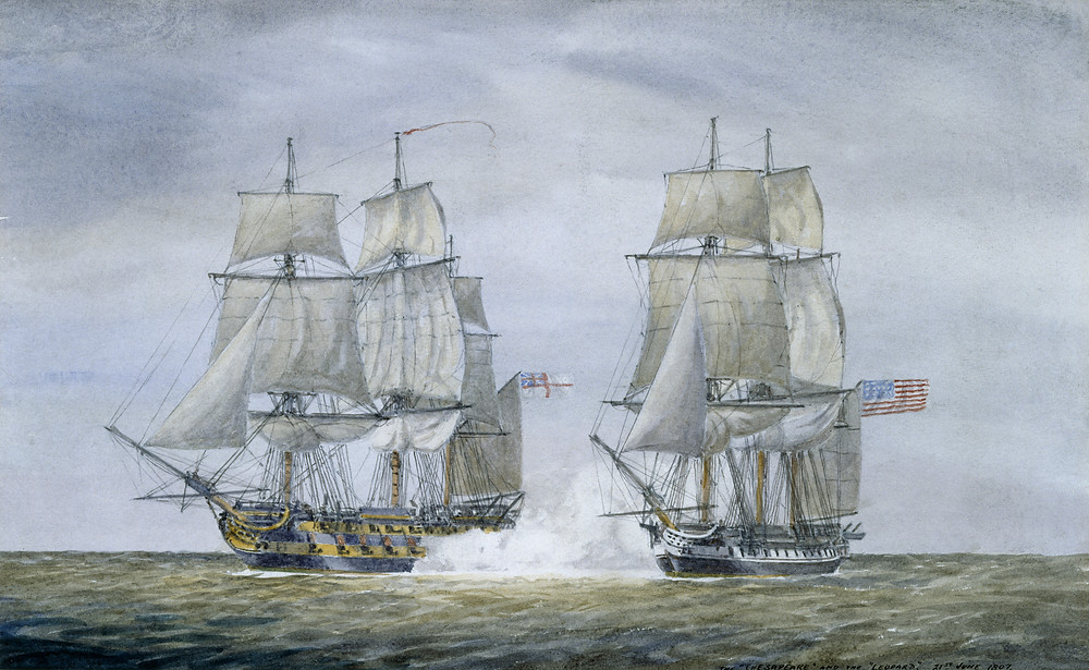USS Chesapeake vs. HMS Leopard