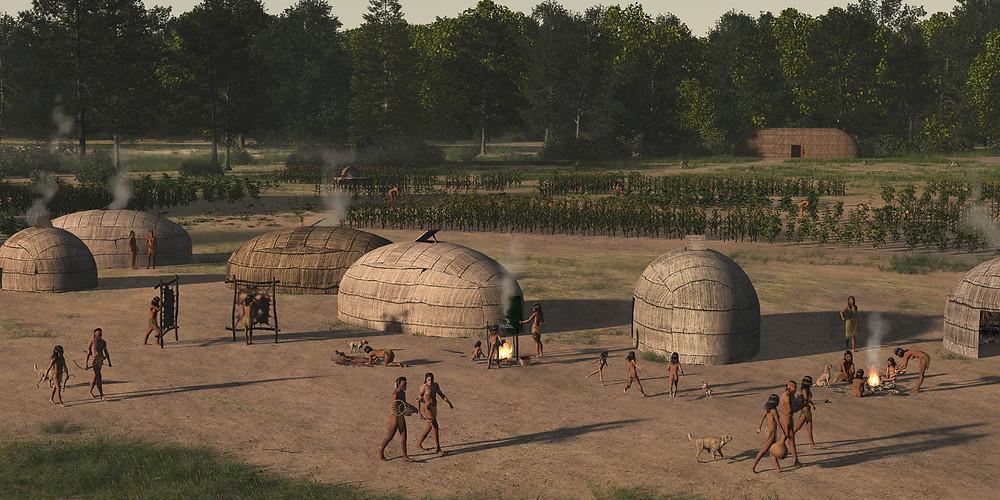 Woodland Indian Village