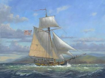 Example of an 18th Century Sloop Similar to the Liberty