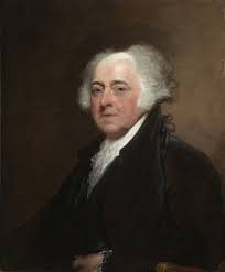 US President John Adams
