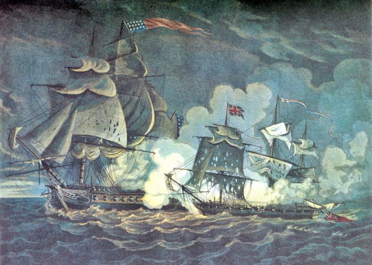 USS President vs HMS Little Belt