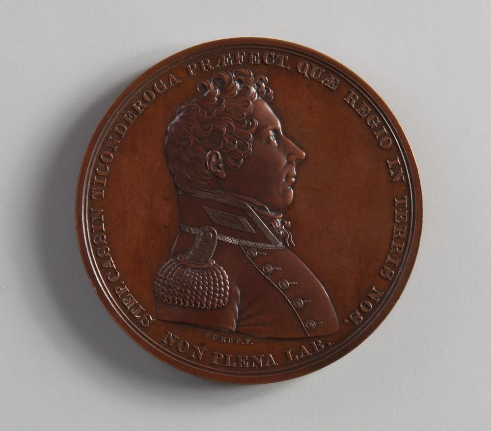 Lt Stephen Cassin's Congressional Medal