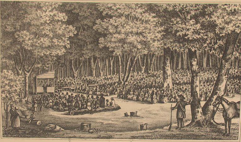 Outdoor Revival in Kentucky ca. 1800