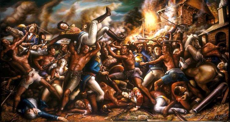 1791 Slave Uprising on Saint-Domingue (Haiti)