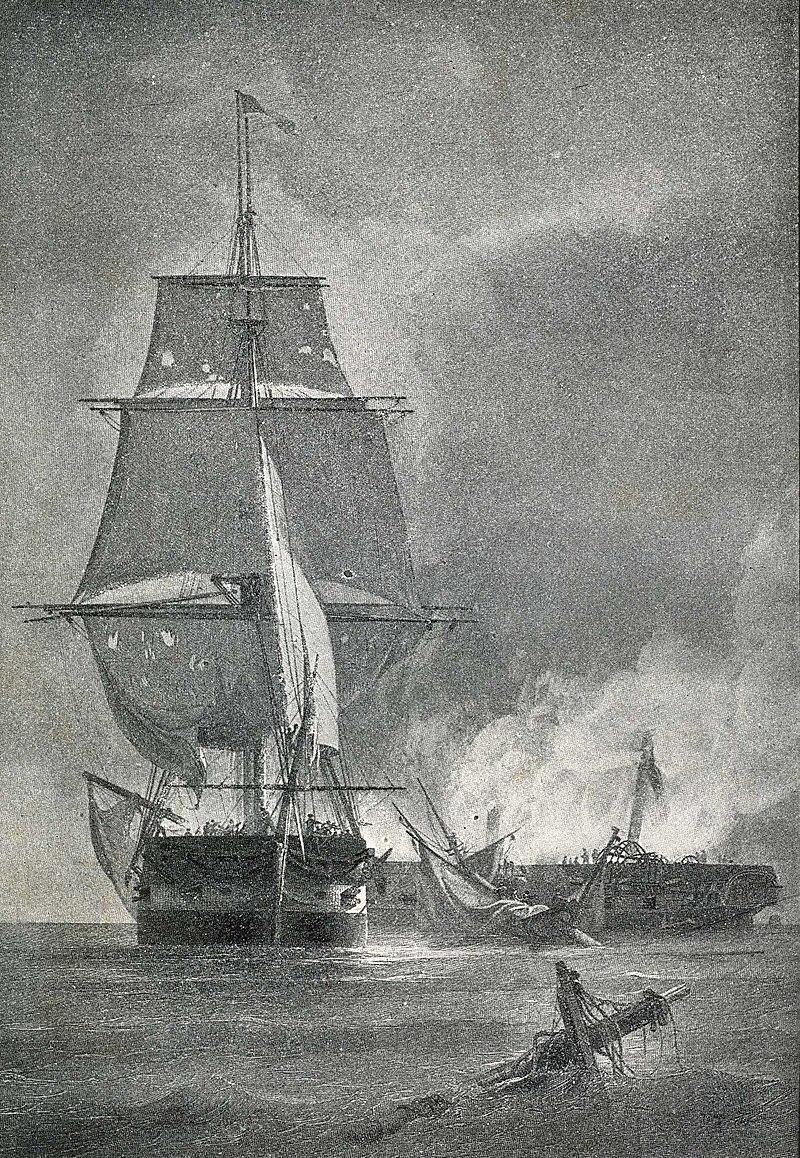 USS Essex Capturing the HMS Alert