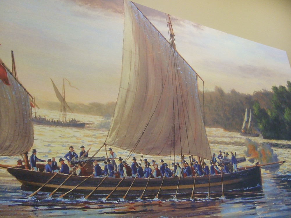 War of 1812 Gunboat