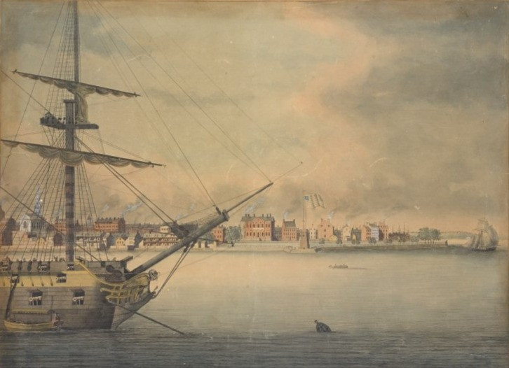 New York Harbor 1793-94