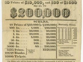 Lotteries as Public Finance