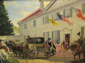 George Washington's 1791 Southern Tour – Part 1:  The Journey South
