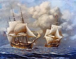 USS Constellation vs L'Insurgente
