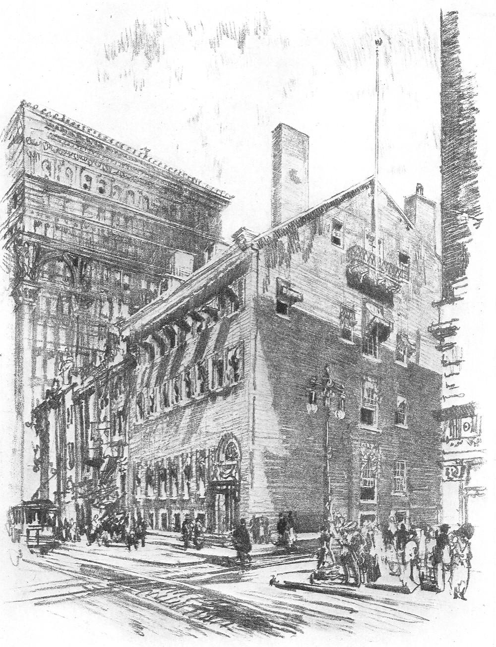 Philadelphia Club in 1914