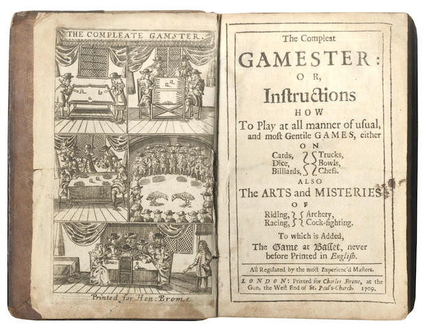1709 Edition of The Compleat Gamester