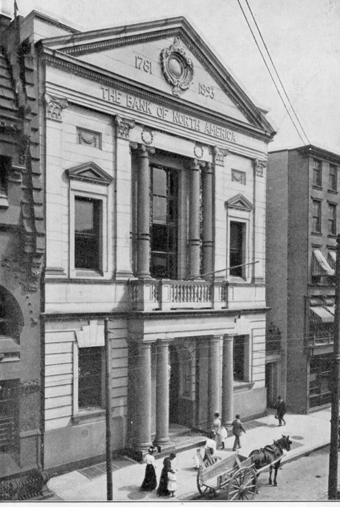 Photograph of the Bank of North America Building