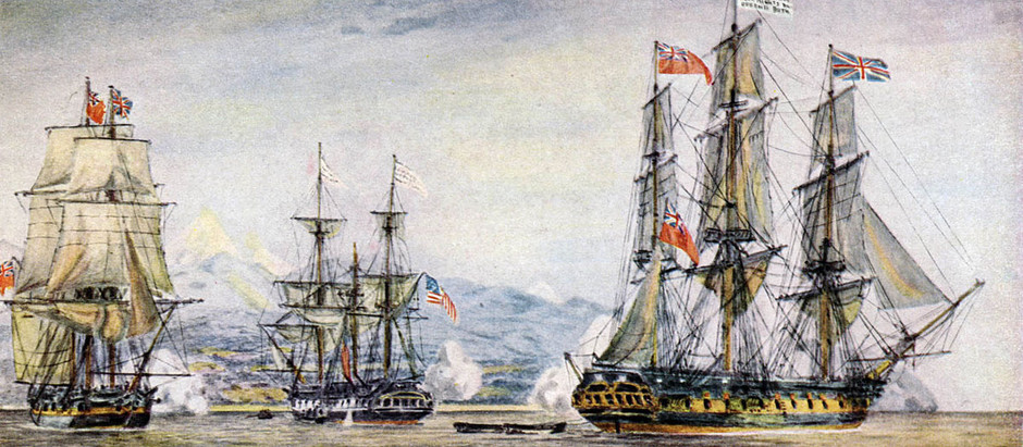 The War of 1812 – Part 7 - Naval War in the Pacific