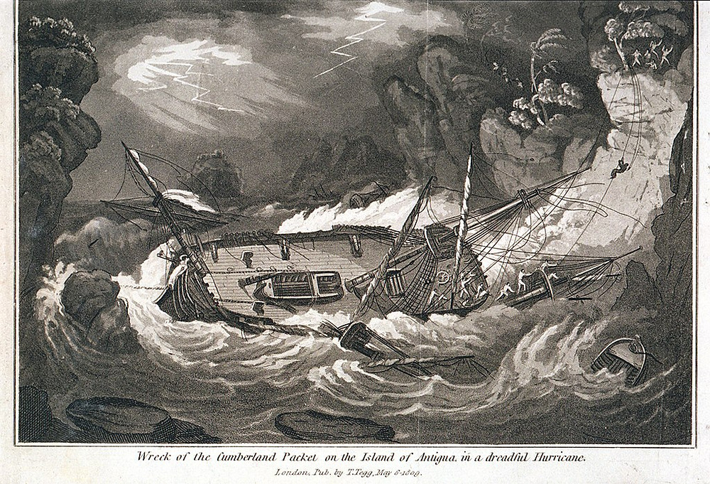 Wreck of the Duke of Cumberland Packet