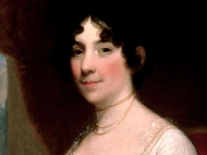 """Dolley Madison:  The Nation's """"First"""" Lady."""