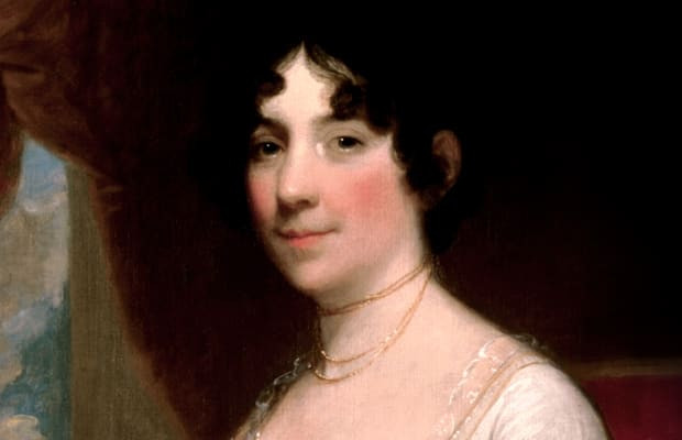 "Dolley Madison:  The Nation's ""First"" Lady."