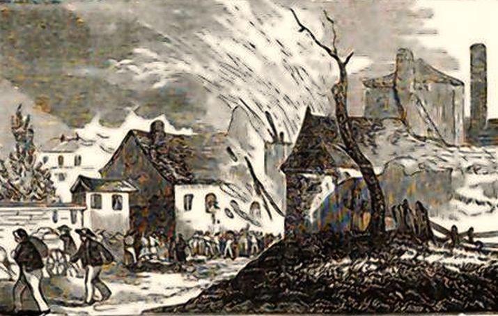 Burning of Hampton, VA
