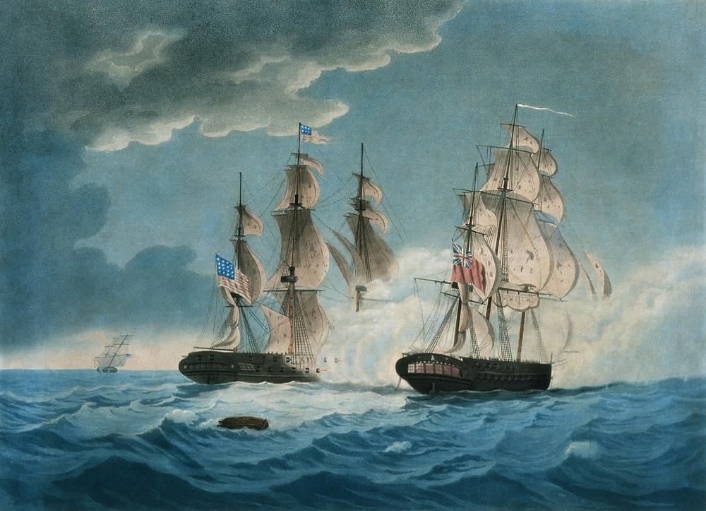HMS Endymon vs USS President