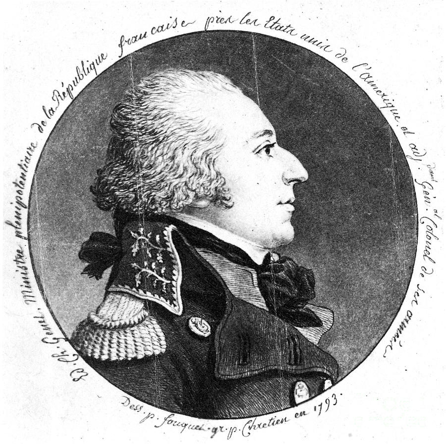 Portrait of Edmond Charles Genet