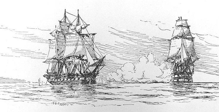 HMS Leopard and USS Chesapeake