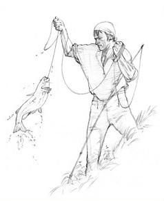 Silas Goodrich as Drawn by Michael Haynes, 2001