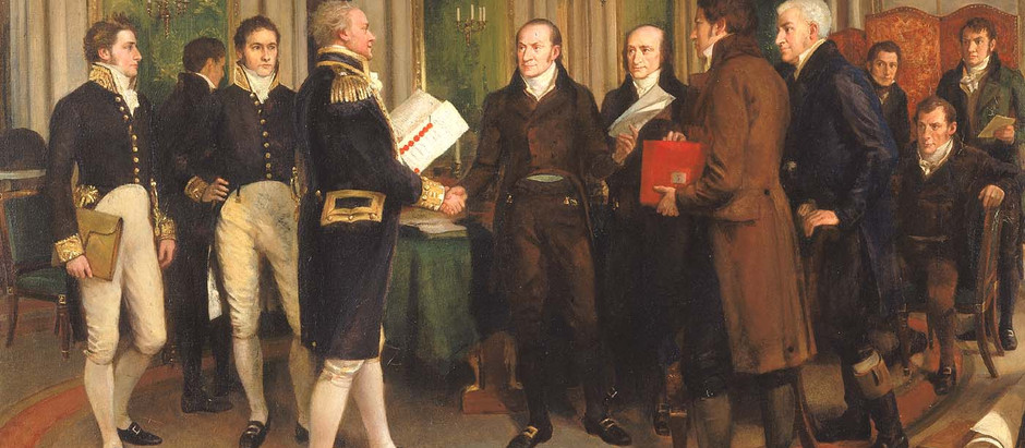 The War of 1812 – Part 8 - Diplomacy and the Treaty of Ghent