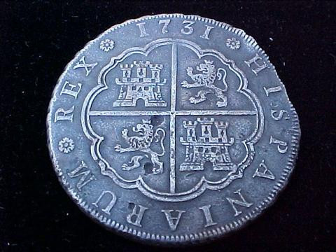 Spanish 8 Reale (piece of eight)
