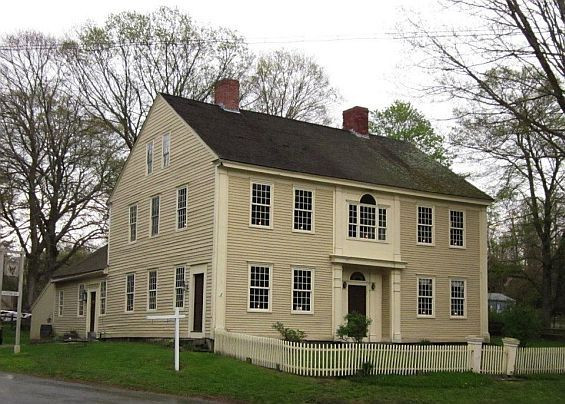 Federal Style Clapboard Home
