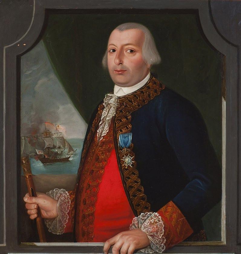 Portrait of Bernardo de Gálvez