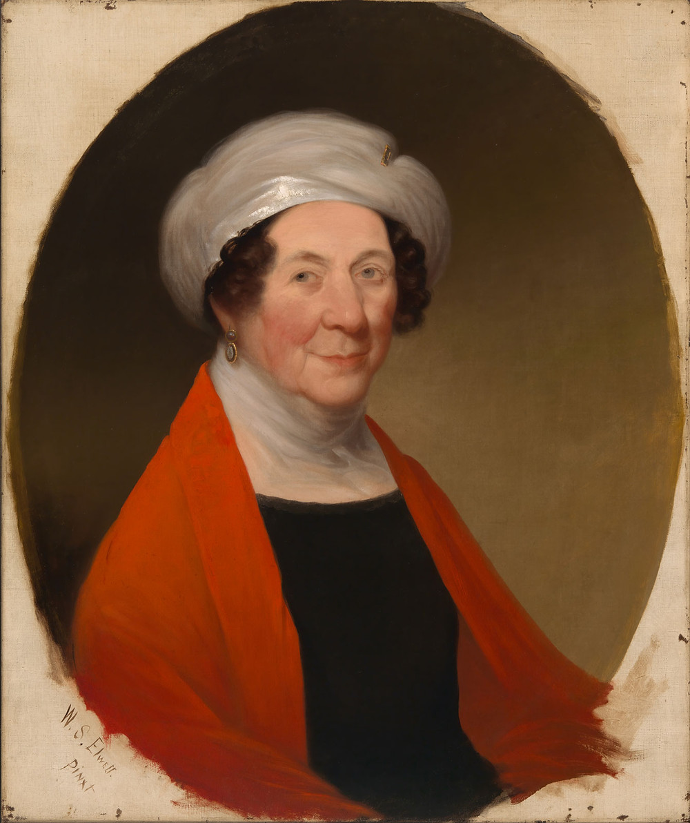 Dolley Madison in 1848, About a Year Before Her Death