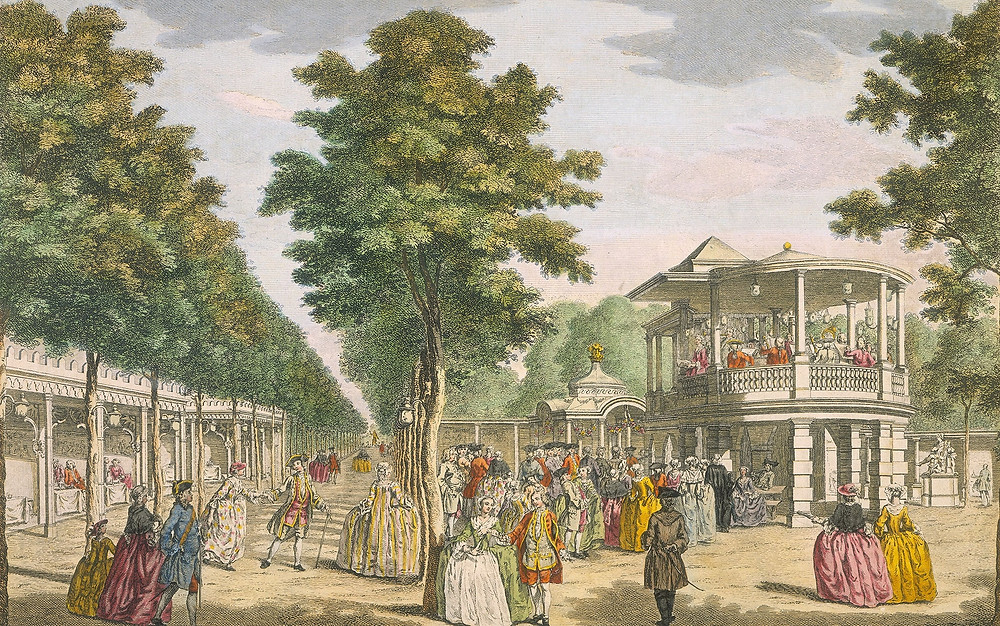 Vauxhall Gardens in London