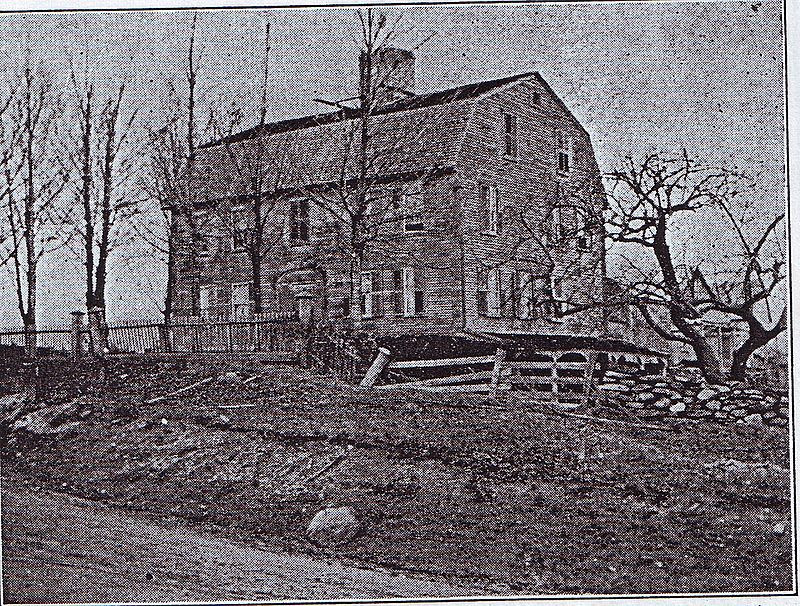 Home of William West in Scituate Rhode Island