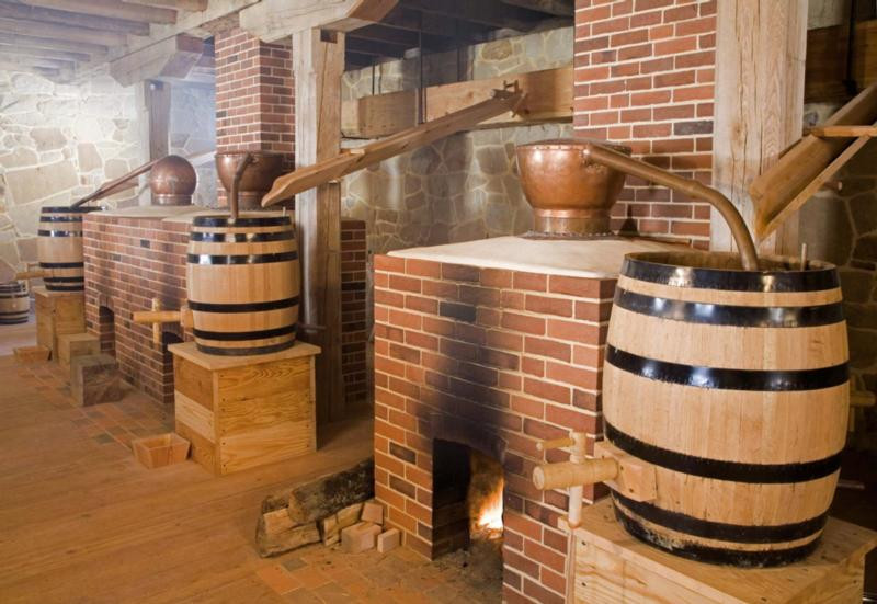 Colonial Era Whiskey Stills