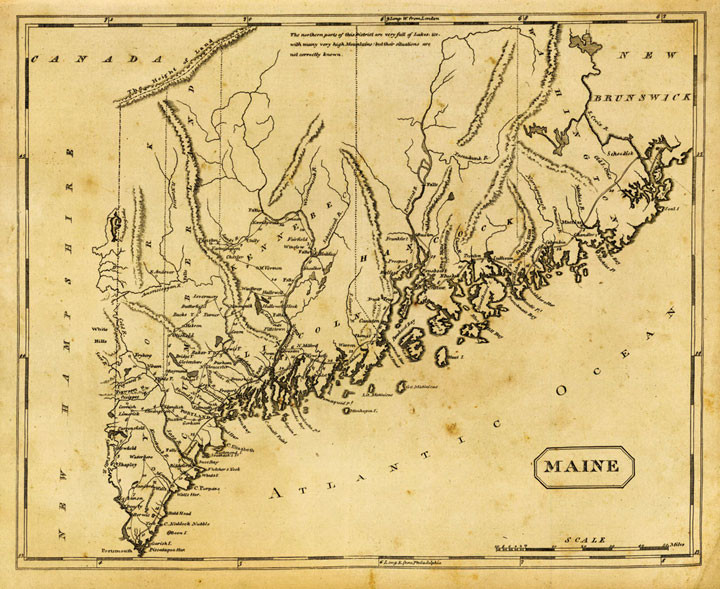 Maine Coast - Ideal for Smuggling