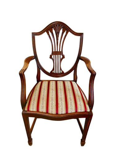 Hepplewhite Chair with a Shield Motif