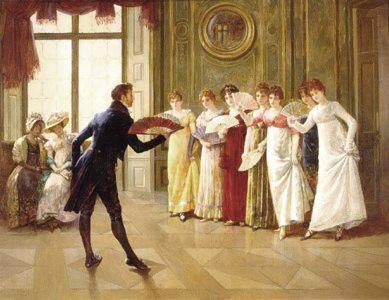 Dance Master Teaching Proper Ballroom Deportment