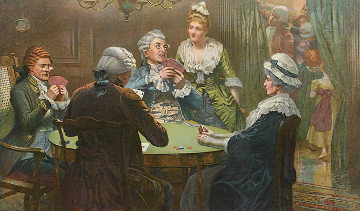 The Unconquered Lord of the Card Room: Whist-its history and play