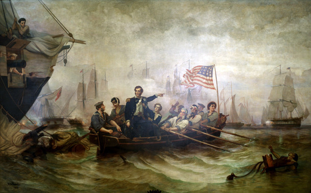 Perry Shifting His Flag to the Niagra