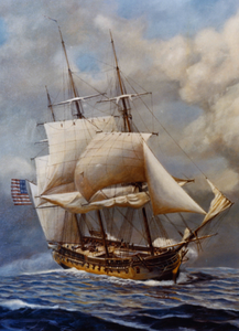 USS Constellation - One of America's First Frigates