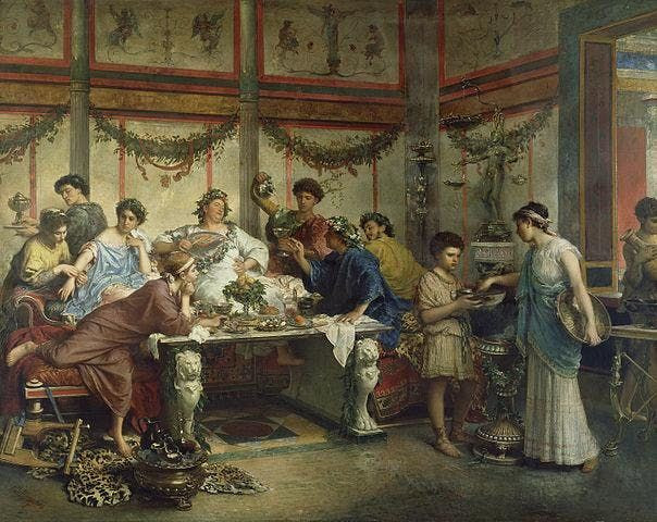 A Roman Dinner Party