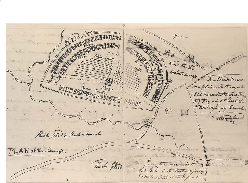 Plan for a Methodist Camp Meeting - Fairfax VA