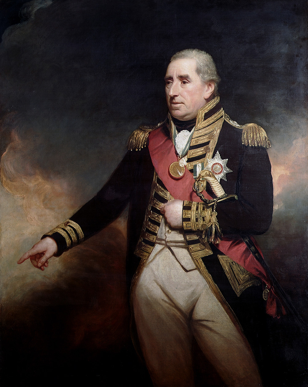 Admiral Sir John Thomas Duckworth