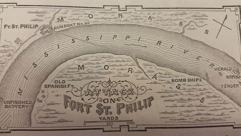 Fort St. Phillip Battle Map